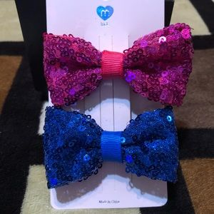 Sequins bows New